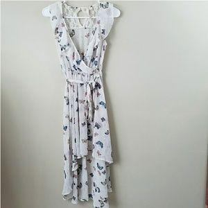 Disney Cinderella Butterfly Print Dress